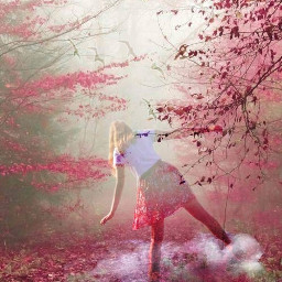 forest girl mystic freetoedit