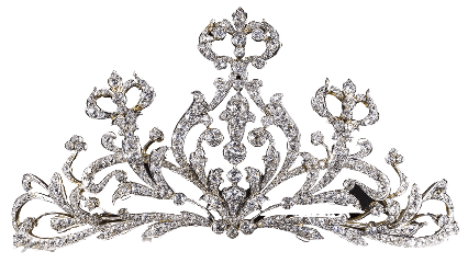 crown queen foreground background nightclub
