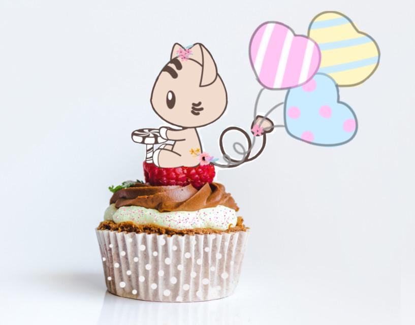 #freetoedit #cupcake