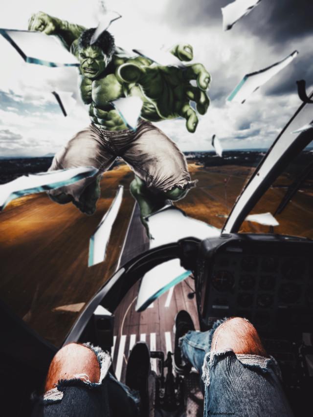 #freetoedit #editedbyme #editedwithpicsart #manipulation #creative #amazing #byme #explosure #angry #hulk #strong #monster #potrait @picsart