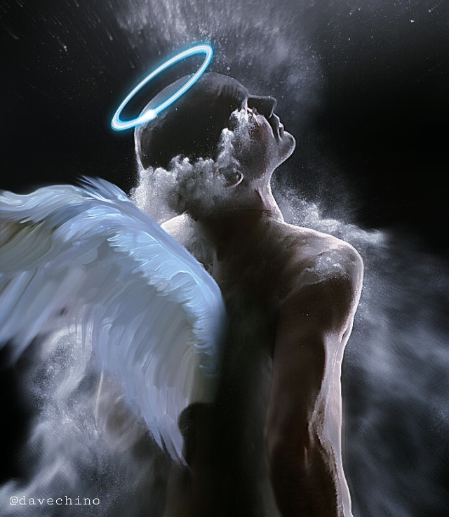 #angel #wing #male #man #angelwing #fog @freetoedit @picsart #myedit