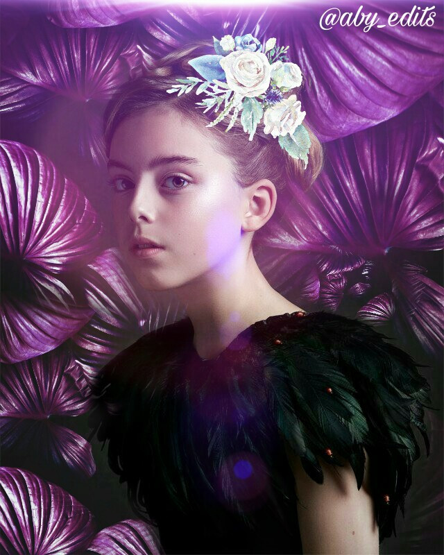 Princess #freetoedit #beauty #girl #purple #flowers #lens #light #edited #remixing #remixit #picsart  #love
