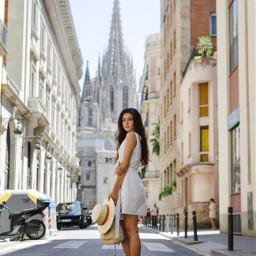 gothicquarter barcelona spain travel travelblog vacation people freetoedit