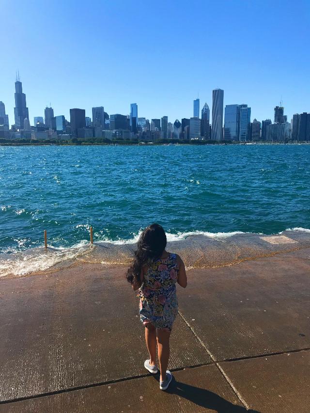 #nofilter #vacaymood #wavy #vacation #summer #chicago #lakemichigan #pcholidaythrowback #holidaythrowback @picsart #pcweekendselfie #pcdayout #dayout #pcskyscraper #pclakes #pcweekend #pctourist #pcsummertimeflashback #pcfaceless