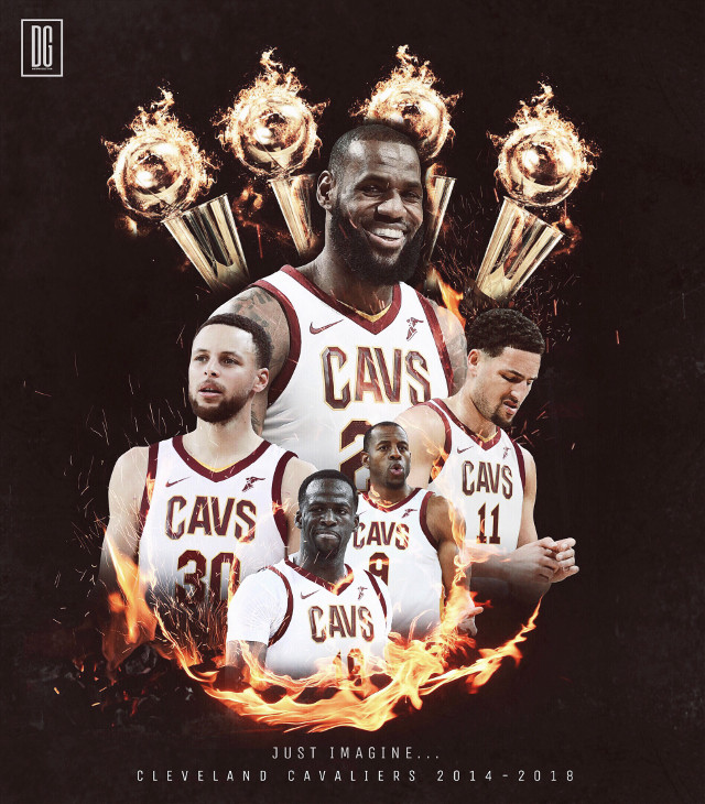Just imagine LeBron having this team the last four years... #madewithpicsart #freetoedit #cleveland #usa #nba #basketball #picsart #art #artwork #design #today #friday #sports #f4f #follow4follow