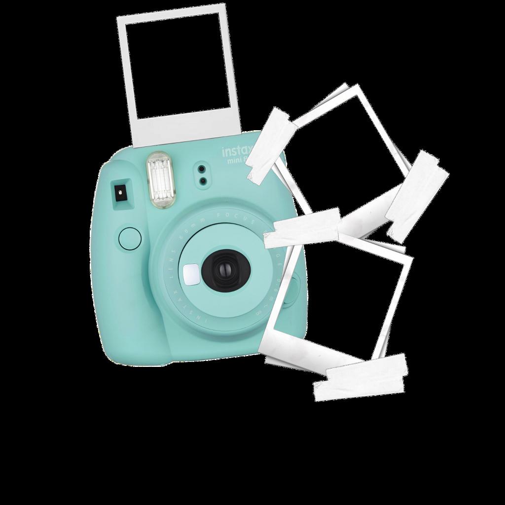 polaroid camera picture sticker template edit cute aest