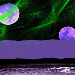 alien space cool colorsplasheffect color