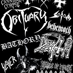 deathmetal thrashmetal blackmetal metal obituary