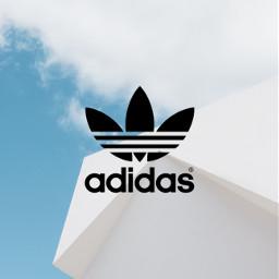 freetoedit adidas logo summer sky