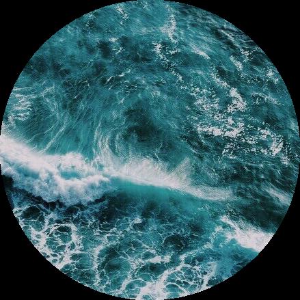 Teal Blue Aesthetic Ocean Beach Sea Blueaesthetic