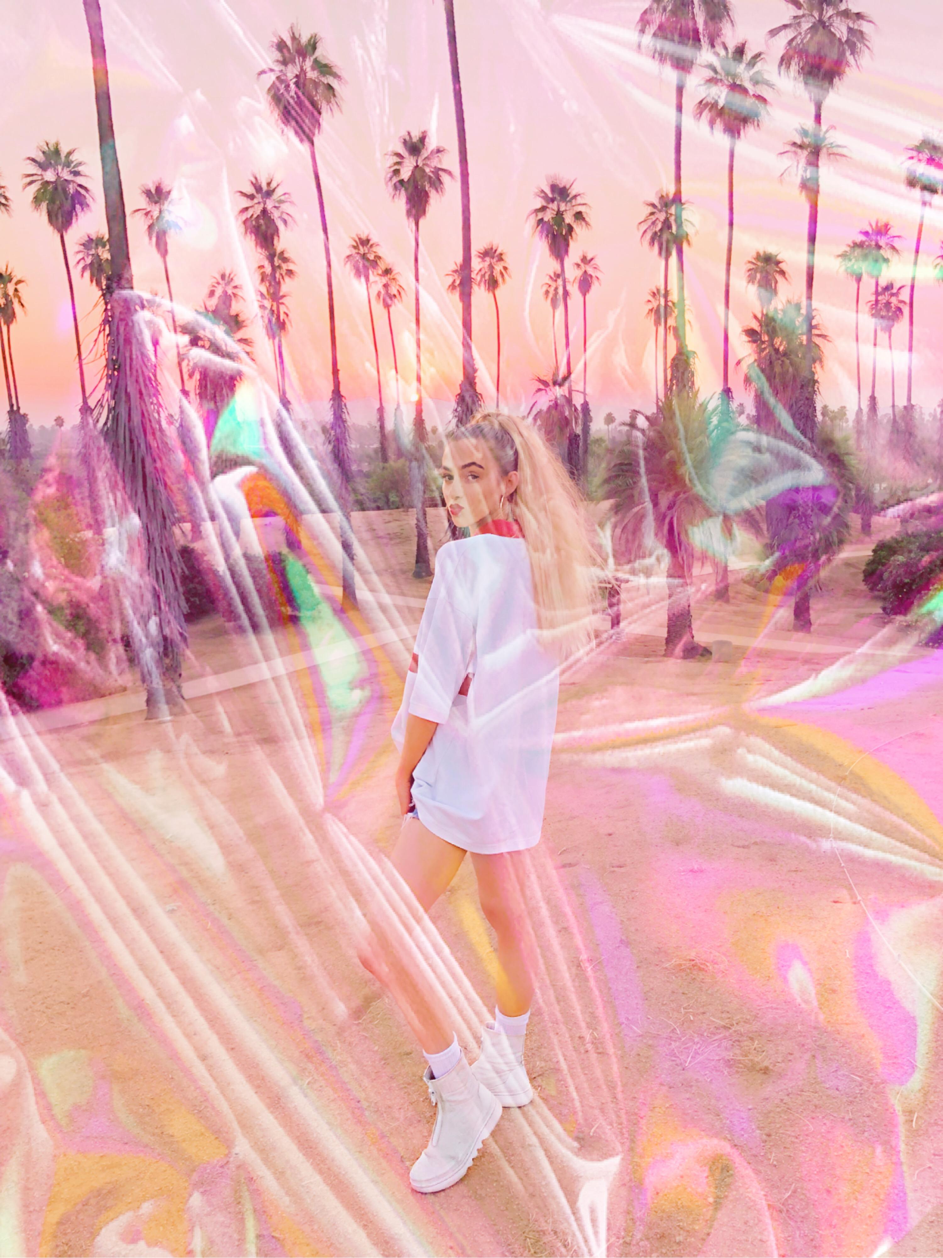 Plastic wrap edit #plastic #mask #wrap #cool #california #model #trendy #lit
