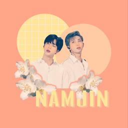 freetoedit namjin bts ship namjoon