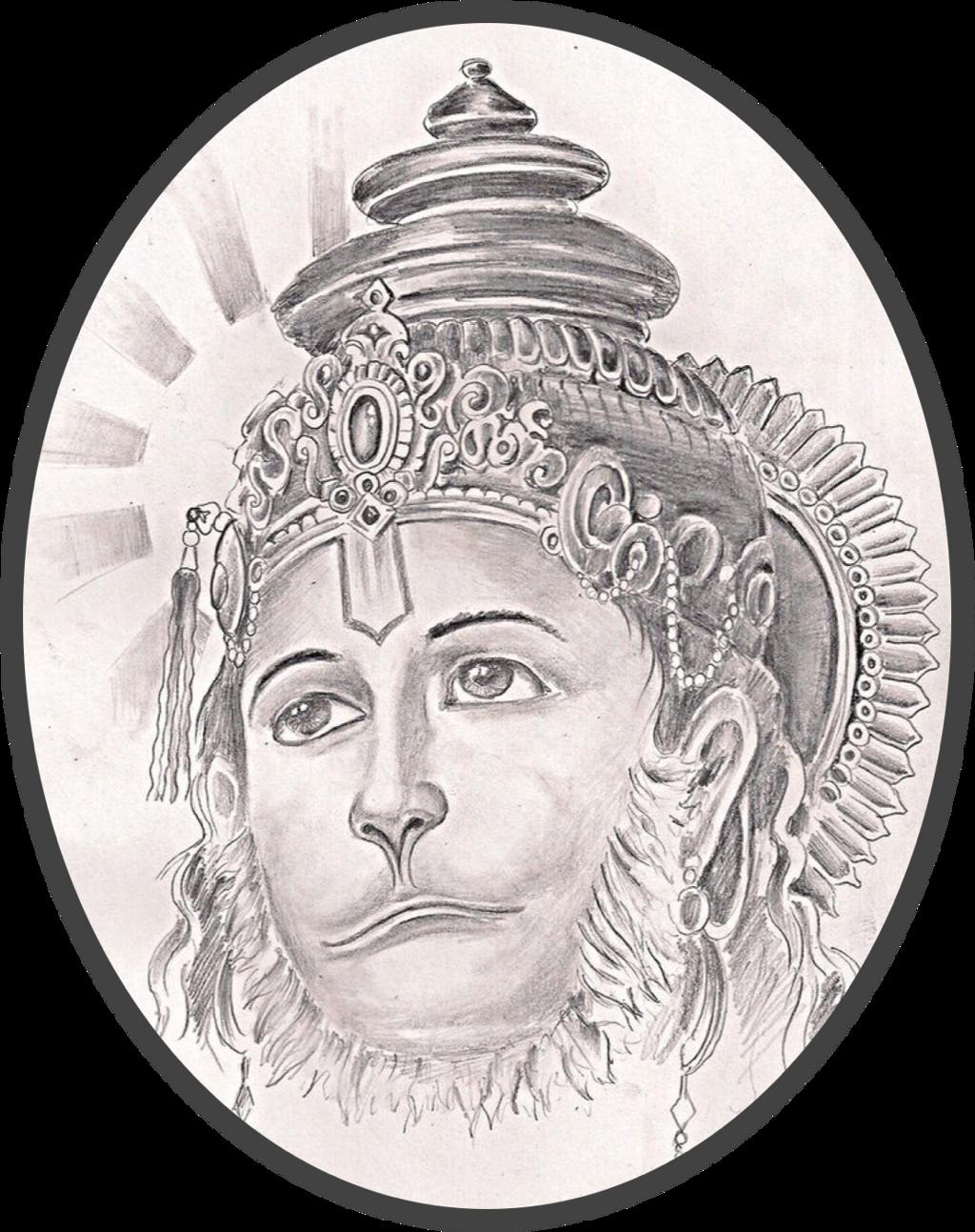 Hanuman sticker