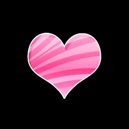 freetoedit recurso hart corazon rosa cc
