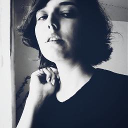 freetoedit blackandwhite portrait selfportrait selfie