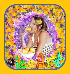 picsart sticker girl fruit tatedoll freetoedit