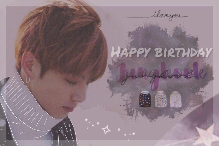 HAPPY BIRTHDAY JUNGKOOK! I am really really happy for