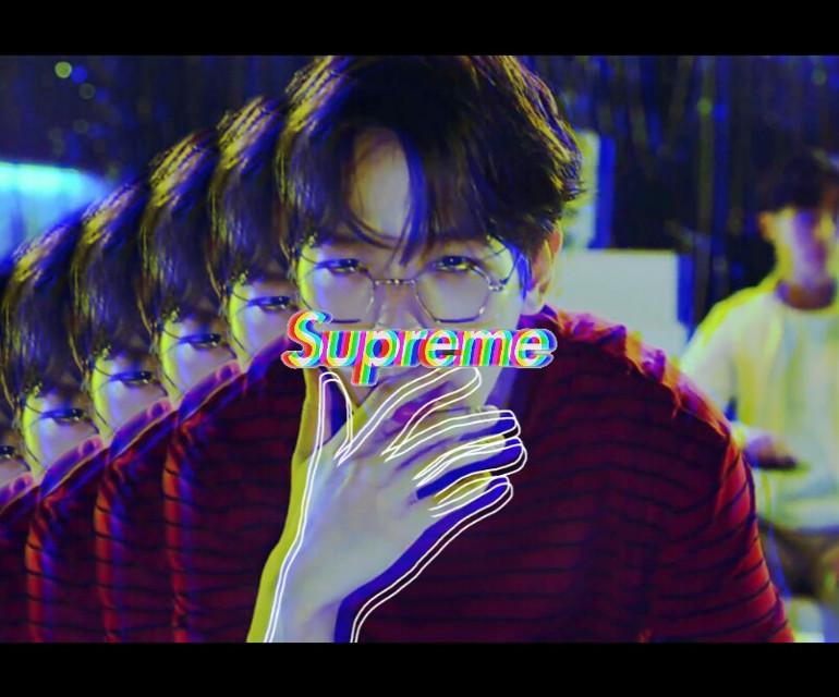 #freetoedit my favorite song 💕❤💕💕 it's so good  https://youtu.be/RduG3VkgnrU  #baekhyun #byunbaekhyun #exo #loco #smstation0 #glitch #supreme #young