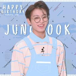 freetoedit jungkook jeonjungkook bts happybirthday