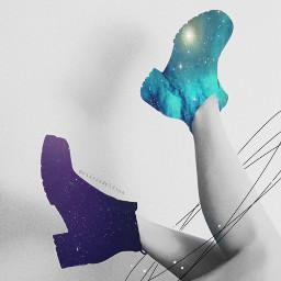 freetoedit galaxy galaxyboots planets be