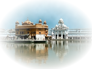 temple goldentemple india foreground background