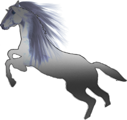 silver horse horses freetoedit