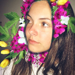 freetoedit edit emily cute flower