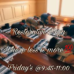 restore yogaeveryday yogalove yogatime nervoussystem