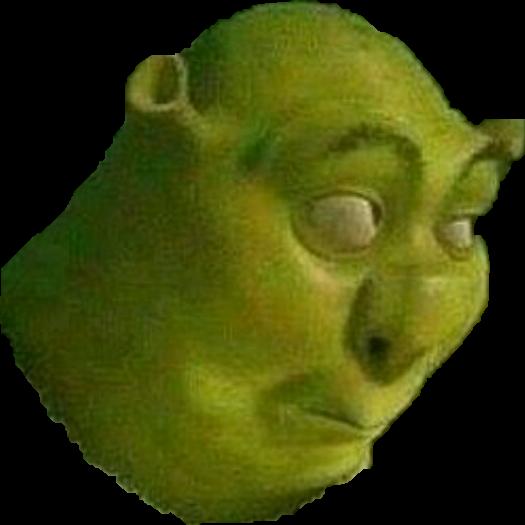 Shrek meme sticker