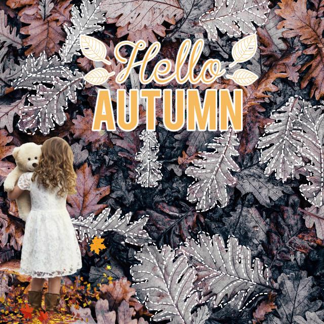 #freetoedit #helloautumn #autumn #autumnstickers #autumnbackground
