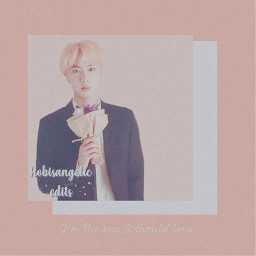 elistalentcontest jin epiphany answer loveyourself