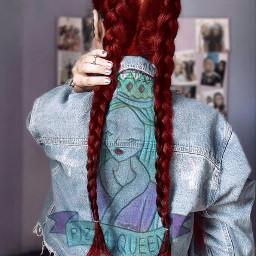 irclonghair longhair pizzaqueen redhairgirl freetoedit