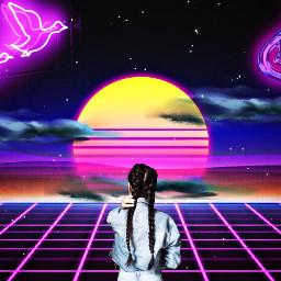 irclonghair longhair freetoedit remixit neons