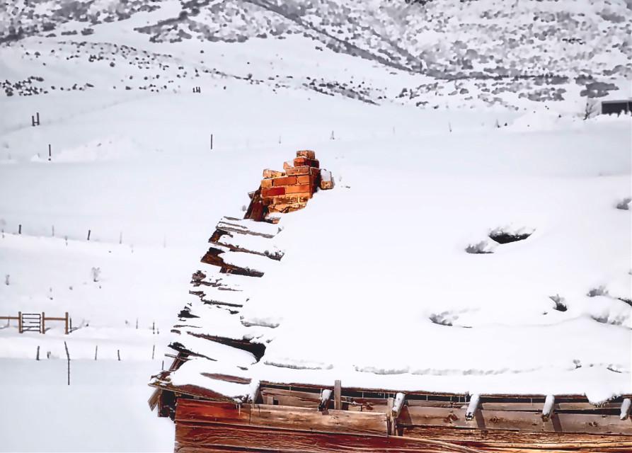 GravityFalls #AngelEyesImages#mountains#snow#chimney#winter#instagram#instagramers#instagrammers#picsart#picsartist#picsartists#picoftheday#nikon#nikonusa#nikond5300#nikonphotography#travel#traveler#traveling#traveler#travelphotography#utah#utahlandscape#shack#shed#beautifullandscape