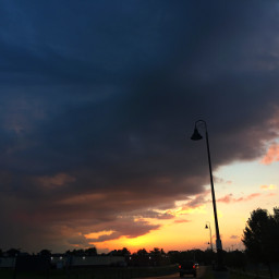 sky sunset photography clouds