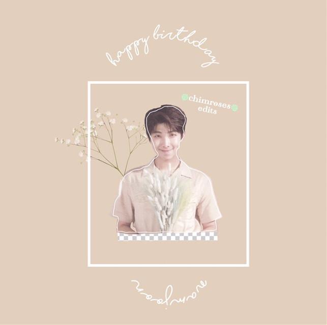 💜남준오빠 생일 축하합니다!💜[READ ME] —————————————————————— 남준오빠 생일 축하합니다~~!!💜💜💜남준오빠는 진짜 완벽한 리더이에요😭😭💞💞그리고, 앞으로도 여전히 힘내세요!! ❤️❤️❤️❤️❤️❤️❤️     Happy Birthday Namjoon~~!!💜💜💜He is such a perfect, amazing, hardworking leader and he deserves all the love😭😭💞💞You were supproting the boys since day 1, and I personally think that Bangtan are so lucky to have an amazing leader like you ❤️❤️❤️❤️❤️     ナムさん誕生日おめでとう!!💜💜本当にナムさんは完璧でかっこいい、たまに可愛くて照れ性な努力家のリーダーで、本当に憧れます😭😭💞💞これからも相変わらず、素敵な素敵なリーダーになり続けてください!❤️❤️❤️❤️❤️ ——————————————————————