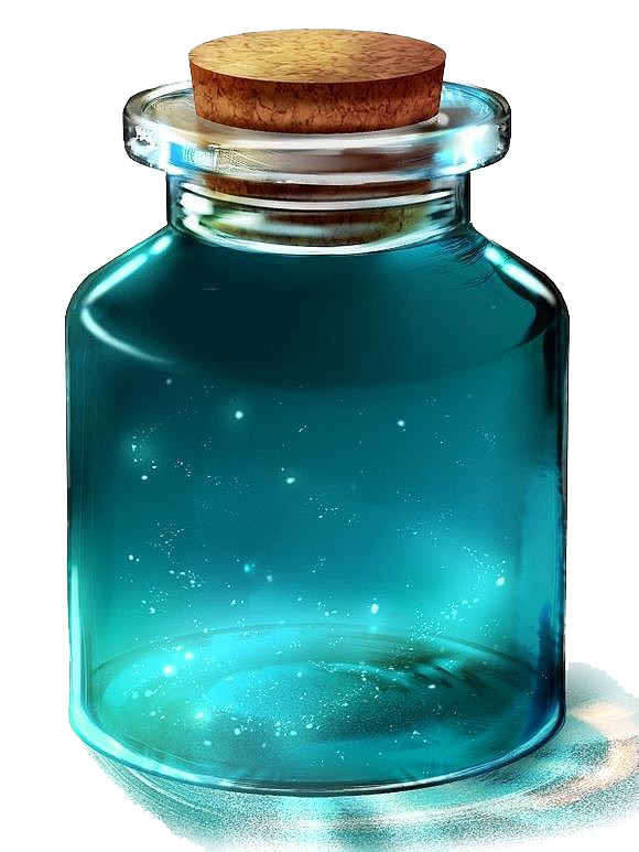 jar anime glow png magic sparkles cute effects