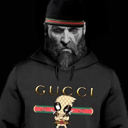 freetoedit kratos godofwar2018 godofwar gucci