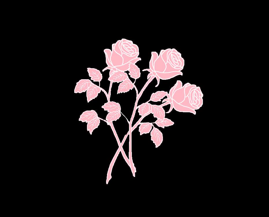 Roses Flor Flower Desenho Tumblr Clipart Clip Art Vetor