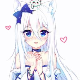 freetoedit anime cute friendly