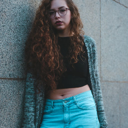 people girl girls longhair curly freetoedit