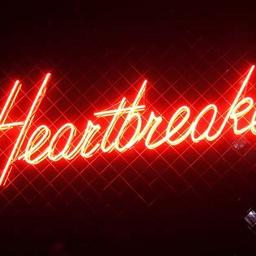 freetoedit heartbreak redneonheart neon neonlights