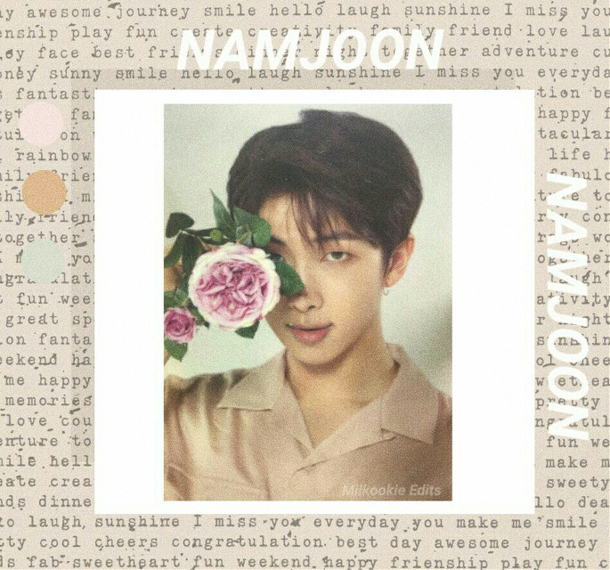 [🏤] K I M   N A M J O O N  Gracias por los 6.5K de seguidores, Gracias por el apoyo y el amor que les dan a mis edits.  Espero que les guste UwU. - [🎬]   #kimnamjoon   #BTS #loveyourself #Army #EditKpop