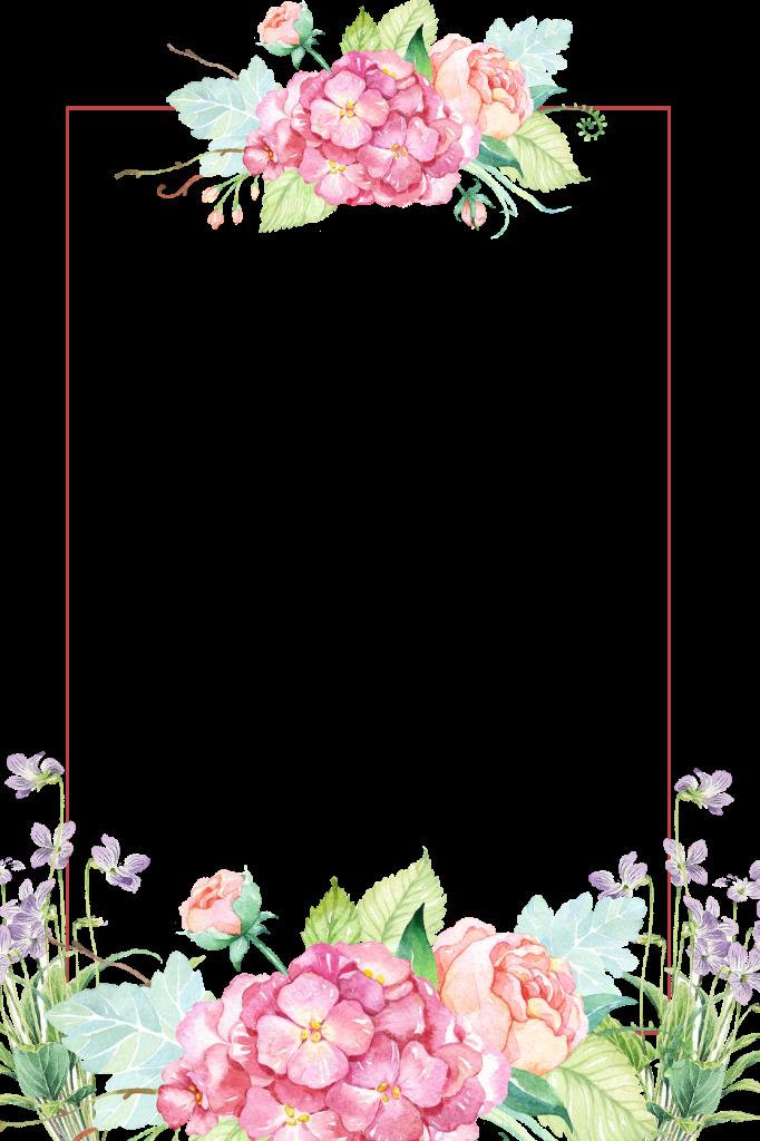flowers flower floral borders border frames frame