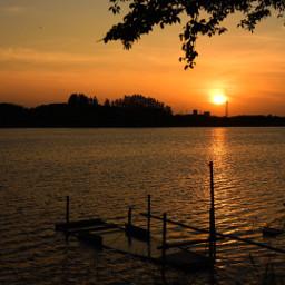freetoedit sunset japan nature landscape