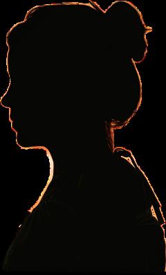 freetoedit silhouette ftestickers girl lady