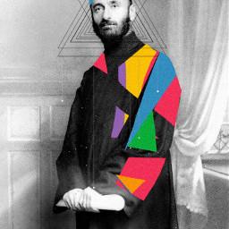 freetoedit komitas armenian art colorful