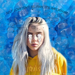 billieeilish bluejelly trasher selflove