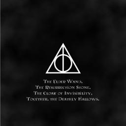 wand elderwand stone philosophersstone cloak