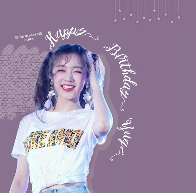 💜Happy Birthday Yuqi💜 [READ ME]  —————————————————————— HAPPY BIRTHDAY YUQI~~~!! My bias wrecker from (G)I-DLE 😌💕 She's so cute and fluffy and adorable, but can be cool and girl crushy at the same time 🤧💫 I love her 😭💜  Also I keep having to listen to Siren by Sunmi- I think I'm addicted to the song 🤑 Tell me if you like that song too~😆  Also sorry to @taehyvns, you recommended that I should do some lines at the side, and honestly, I tried but they wouldn't look nice :( I'll try next time, promise 🙏🌸 ——————————————————————  • •  👾Requests are open👾  • •  ⇆Sticker credits go to the owner⇄  • •  {Tags} #yuqi #gidle #yuqigidle #gidleyuqi #happybirthday #happybirthdayuqi #kpop #kpopidol #kpopedit #cute